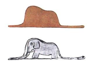 OAA - elefante o sombrero